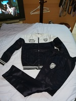 Used New navy blue and white training suit in Dubai, UAE