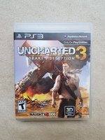 Used Uncharted 3 for PS3 in Dubai, UAE