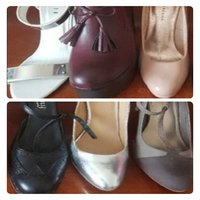 Used ((6)) PAIRS SHOES - THROW AWAY PRICE in Dubai, UAE