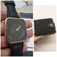 Used Original TOMI Watch♤ 🆓️ Leather Wallet in Dubai, UAE