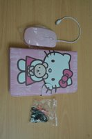 Hello Kitty Leather Case with Keyboard