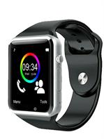 A1 BT Smart watch with sim - black