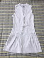 Used White Denim Dress in Dubai, UAE