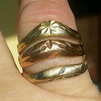 Used 6.7 grams of 14Kt gold womens yellow Gold ring in Dubai, UAE