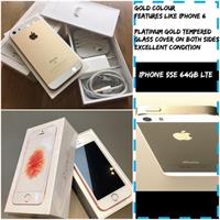 Used IPHONE SE 64gb Gold  in Dubai, UAE