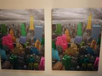 2 Paintings In The Price. New York city.