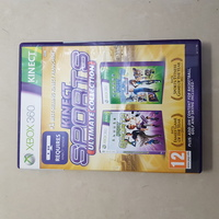 Used Kinect sports double pack fie Xbox360 in Dubai, UAE