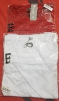 Used 2 White and red tshirts for sale. XL in Dubai, UAE