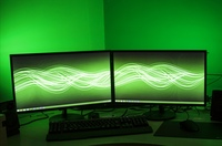 Used 144 H monitor and 60 hz monitor 48 inch in Dubai, UAE