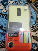 Used 2pc Spigen ORIGINAL cases Galaxy Note 4 in Dubai, UAE