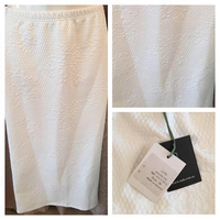 New Skirts Size 38 black and white