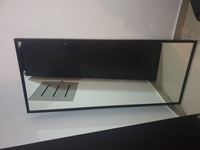 Used IKEA mirror black large in Dubai, UAE