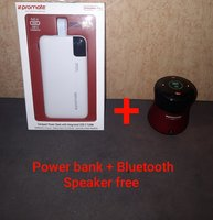 Used Promate power bank 10000mah + free gift in Dubai, UAE