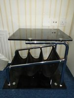 Used Small Glass Table Black Color in Dubai, UAE