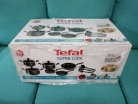 Used Tefal. Sets cookware  12pieces  set in Dubai, UAE