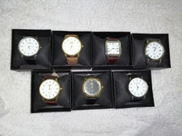 Used Watches 7pcs Stock Clearance in Dubai, UAE