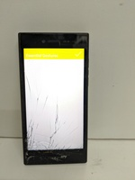 Used Blackberry leap screen broken. in Dubai, UAE