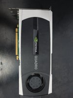 Used NVIDIA QUADRO 5000 VIDEO CARD in Dubai, UAE