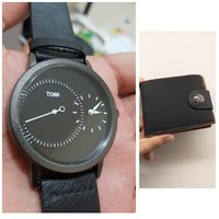 Used Original TOMI Watch~ 🆓️ Leather Wallet in Dubai, UAE