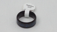 Used Dark Blue glitter ring for women in Dubai, UAE