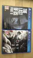 Used ( Ghost of Tsushima - Last of us 2) in Dubai, UAE