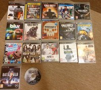 Used 17 PS3 Games + Controller in Dubai, UAE