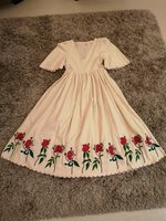 Used New Embroidered Roses Dress S in Dubai, UAE