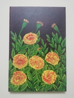 Used Acrylic canvas painting 20x30cm in Dubai, UAE