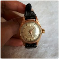 Authentic omega watch gold antique