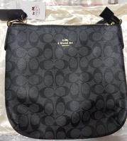 Used Coach sling bag - black in Dubai, UAE