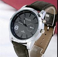 Men Grey Military Style Watch