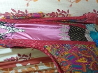 Used Embroidered stylish flair frok & dopatta in Dubai, UAE