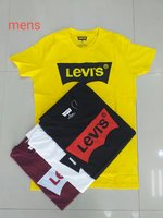 Used Levis T-shirt assorted 4 pieces in Dubai, UAE