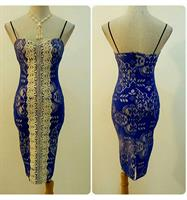Fabulous Short Dress Sleeveless Blue Color Available Sizes Never Worn Very Nice Fitting