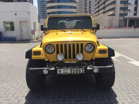 Used Manual Wrangler 2006 For Very Good Price... Perfect Onside And Outside, Made By Jeepers , Full Lock , 8 Projectors ( 4 Circle And 4 LED Lights ) Lifting Kit By Jeepers As Well in Dubai, UAE