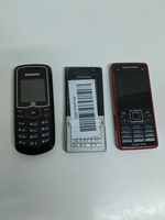 3 pcs mobile * dead / parts missing*