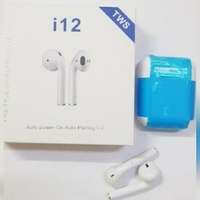 Used TWS I 12 airpod wireless 0.5 in Dubai, UAE