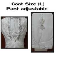 Wedding Suits with adjustable pant