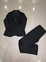 Used Suit new black size M in Dubai, UAE