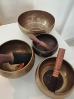 Used Tibetan singing bowls from Nepal in Dubai, UAE