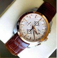 Used Brown Tissot watch in Dubai, UAE