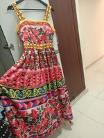 Used Floral beautiful maxi dress brand new in Dubai, UAE