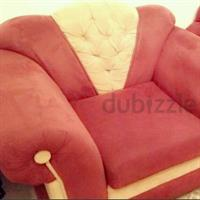 Used 4 pices sofa 2 single and 2  3sets in very cheap and very clean  in Dubai, UAE