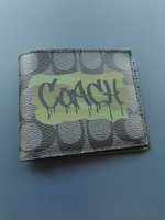 Used COACH official leather wallet (NEW) in Dubai, UAE