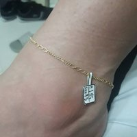 Used 18 KARAT REAL GOLD ANKLET in Dubai, UAE