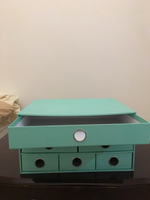 Cardboard drawer for items keeping