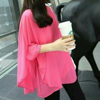 Used Pink Top L To Xl Fit Used Few Times Batsleeves in Dubai, UAE