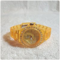 Fabulous yellow London watch FASHIONISTA