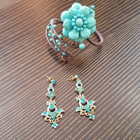 #brandnew #Jewelery set.. #Earrings and #bracelet. Original price 150aed. Never used.