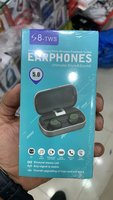 Used S8 wireless earbuds for sports 5.0 in Dubai, UAE